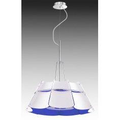 Suspension - Métal - Robotic - Blanc/Bleu
