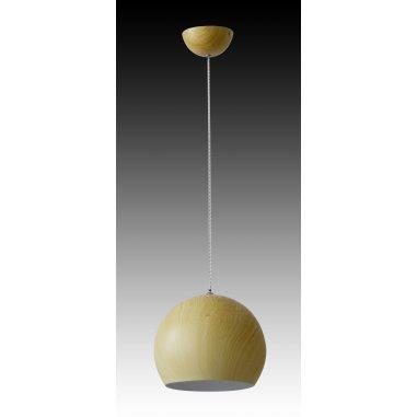 Suspension Métal - Chêne - 28 cm Dim - Chêne Clair