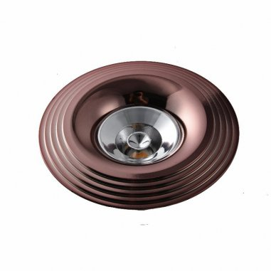 Spot Encastrable Décoratif - Rond - M001 - Aluminium - Rose Or