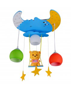Suspension enfant Winiluni 3 bleu