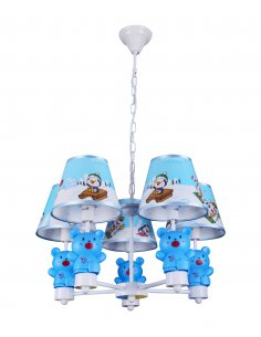 Suspension enfant Pingo 5 Bleu
