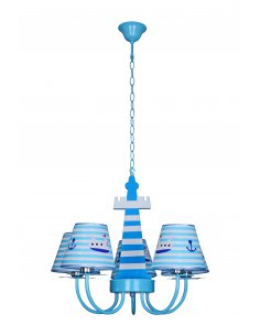 Suspension enfant Seafare 5 Bleu