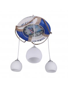 Suspension enfant Softiled 3 Bleu