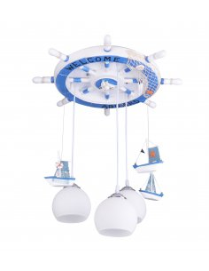Suspension enfant Timona 3 Bleu