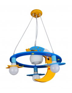 Suspension enfant Observa 4 Bleu