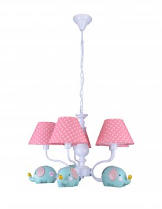 Suspension enfant - Elephy 5 Rose