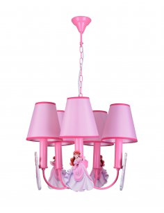 Suspension enfant little lady 5 PK Rose