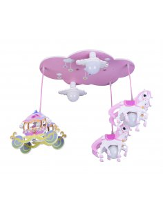 Suspension enfant Ponibelle 5 Rose