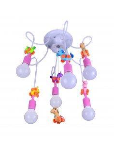 Suspension enfant - Technocolor 6 Rose