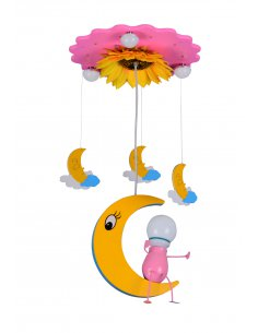 Suspension enfant - Monami 4 Rose