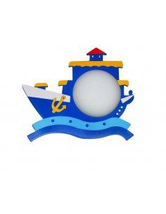 Applique Murale enfant - Bleu - Bateau Sailorkid BL