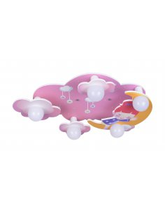 Ceiling lamp child - Pink - Sky - Nostalgia 5 PK