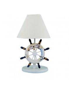 Lampe de table Enfant - Gouvernail - Bleu Foncé - Selvino D/BL