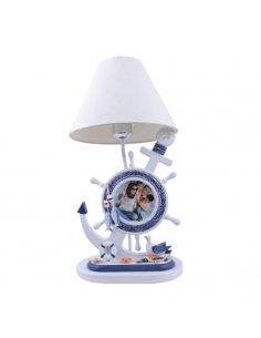 Lampe de table Enfant - Ancre Marine - Bleu - Ankora BL