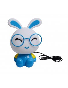 Lampe de table Enfant - Lapin - Bleu - Bunyled