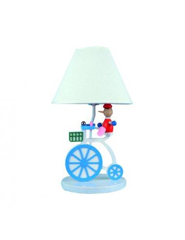 Lampe de table Enfant - Vélo - Bleu -Caletta BL