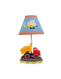 Lampe de table Enfant - Camion - Bleu -Dumpino BL