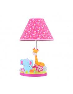 Lampe de table Enfant - Rose - Zoo - Belpark PK