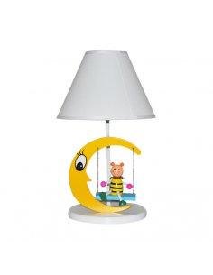 Lampe de table Enfant - Jaune - Lune - Lunaswing Y