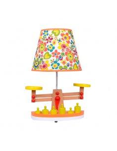 Lampe de table Enfant - Jaune - Balance -Scalo Y