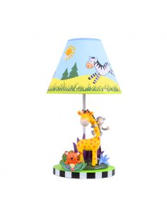 Lampe de table Enfant - Jaune - Zoo - Happy Jungle Y