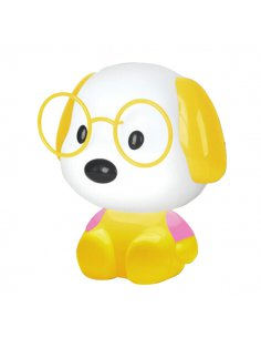 Lampe de table Enfant - Chien - Jaune -Doggy Y