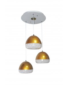 Pendant lamp - Discoled 3 GD - Iron