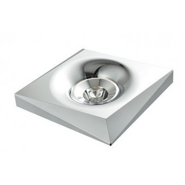 Spot Encastrable Décoratif - Carré - M006 - Aluminium - Chrome