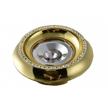 Spot Round   Aluminum  Crystal          