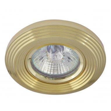 Spot Encastrable Décoratif - Rond - L1075C -  Aluminium - Doré