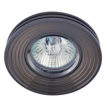 Spot Encastrable Décoratif - Rond - L1076C -  Aluminium - Gris Foncé