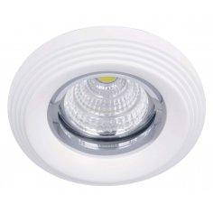 Spots  Round  Aluminum       White