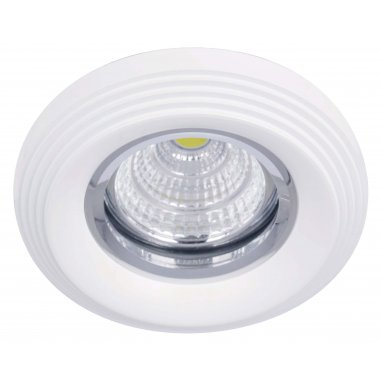 Spot Encastrable Décoratif - Rond - L1073C -  Aluminium - Blanc
