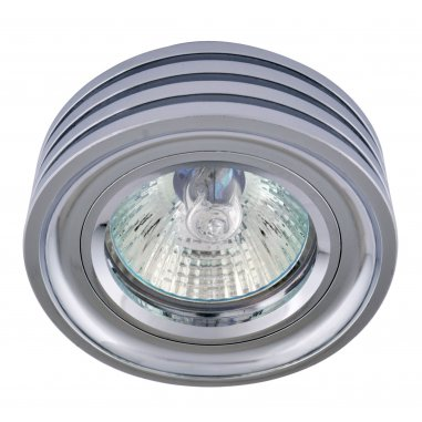 Spots Round  Aluminum         Chrome