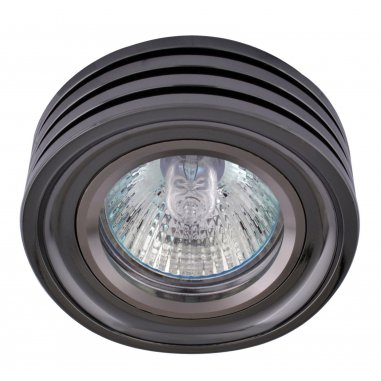 Spots  Round  Aluminum        HK Mirror           (Dark Grey)