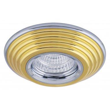 Spot Round  Aluminum           Gold  &  Chrome