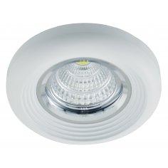Spot Encastrable Décoratif - Rond - L1074C - Aluminium - Blanc