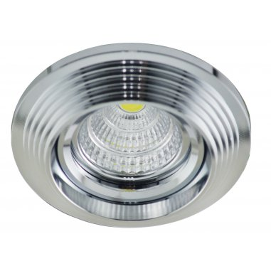 Spot Encastrable Décoratif - Rond - L1077C - Aluminium - Chrome