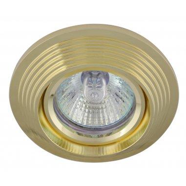 Spot Encastrable Décoratif - Rond - L1077C -  Aluminium - Doré