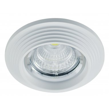 Spot Encastrable Décoratif - Rond - L1077C - Aluminium - Blanc