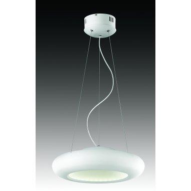 Suspension - Métal - Lovansa - 45 cm Dim - Blanc - LED intégré