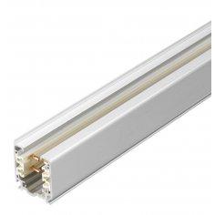 Rail triphasé - Accessoires Spots - 1m -Blanc