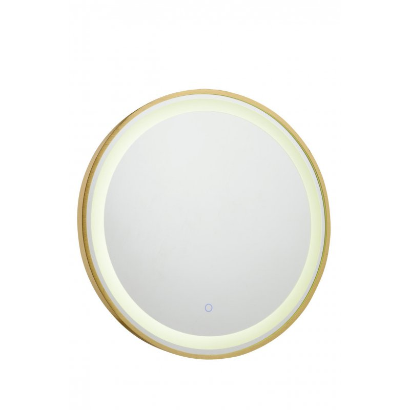 Miroir Moderne Rond Led Int Gr 24 Watt Diam Tre 600 Mm