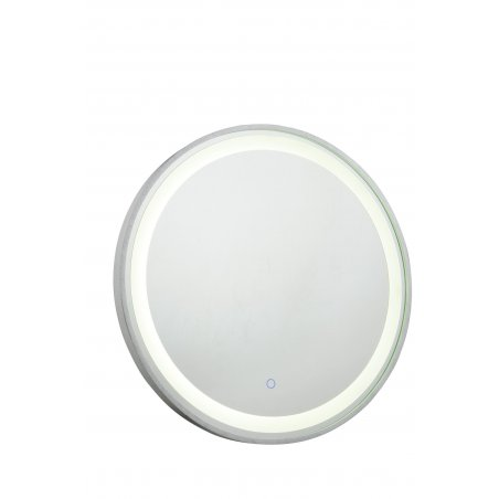 miroir moderne rond led int gr 24 watt diam tre 600 mm. Black Bedroom Furniture Sets. Home Design Ideas