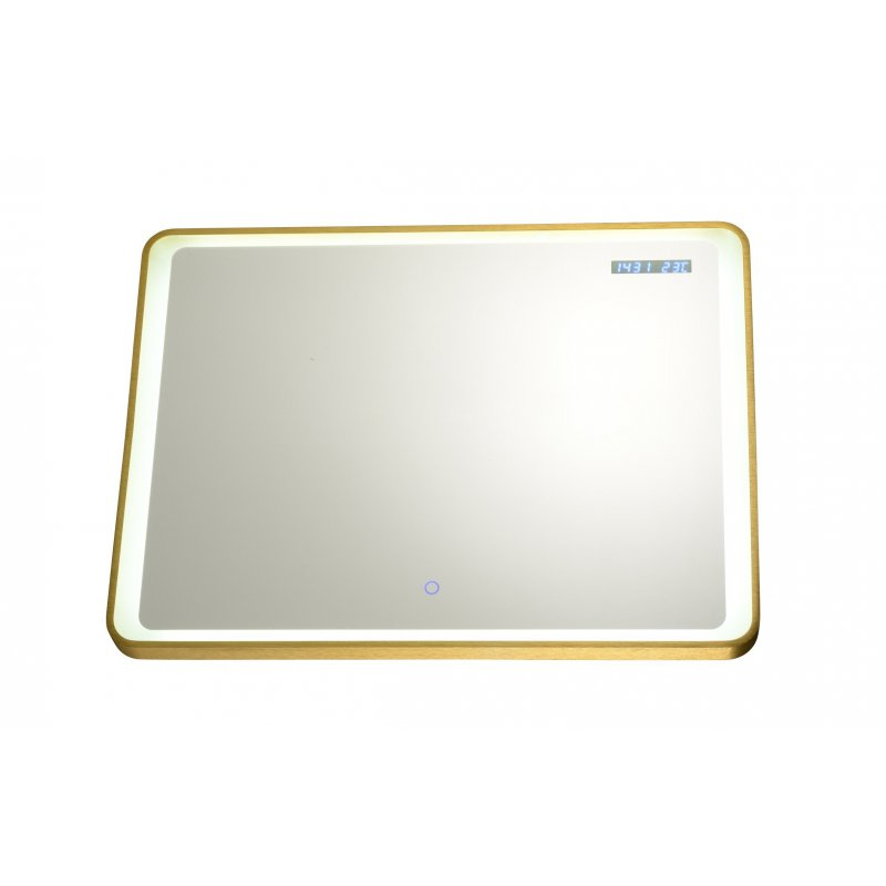 miroir moderne rectangulaire led integre 32 watt With miroir led intégré