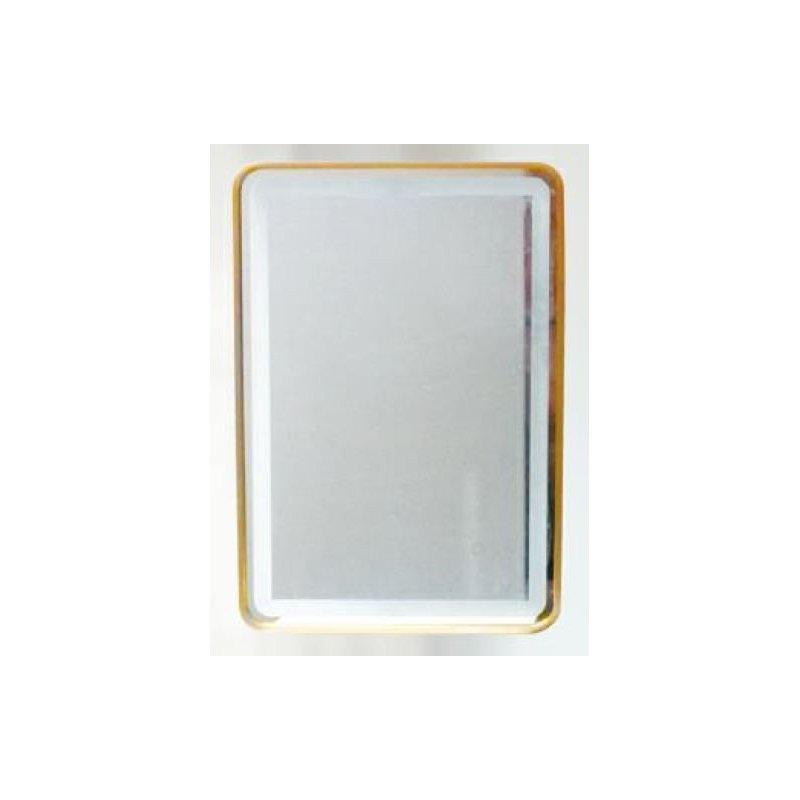 miroir moderne rectangulaire led int gr 24 watt. Black Bedroom Furniture Sets. Home Design Ideas