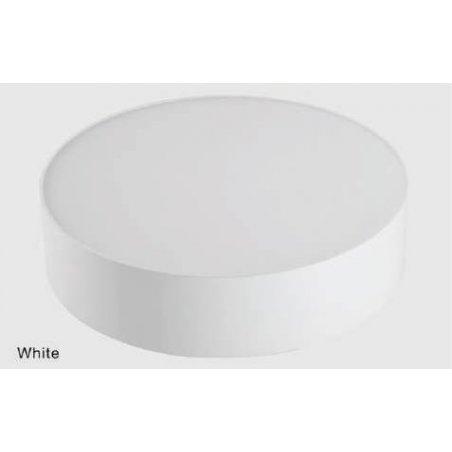 Plafonniers 20 W en saillie Blanc
