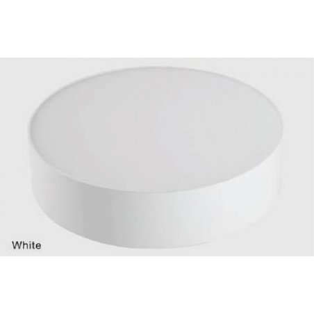 Plafonniers 30 W en saillie Blanc